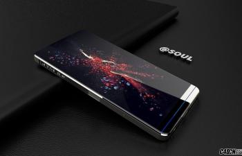 华为P系列概念手机模型