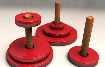 C4D 汉诺塔可控动画教程 python实现