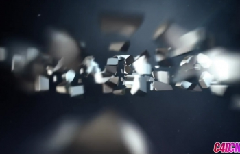 GSG323.Cinema 4D教程 - 动画运动图形 Dynamics标题卡C4D教程