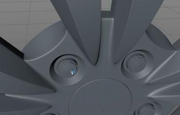 c4d轮胎建模联系。