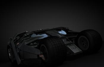 蝙蝠车(跟着教程做的)