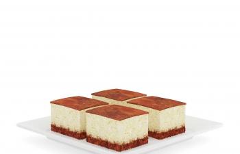 C4D模型 巧克力面包西点蛋糕模型