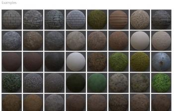 65组无缝4K分辨率贴图 Eisklotz – Seamless Textures Bundle 01