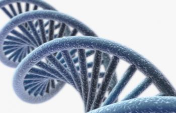 C4D模型 DNA螺旋 医疗生物