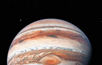Octane渲染器绚丽多彩漂亮木星气态巨星天体模型