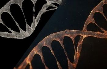 C4D+AE制作燃烧的熔岩DNA螺旋教程