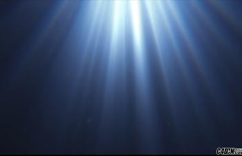 CINEMA 4D教程——4分钟制作水下光线动画