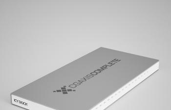 光盘盒CD盒硬盘盒移动电源包装盒C4D模型