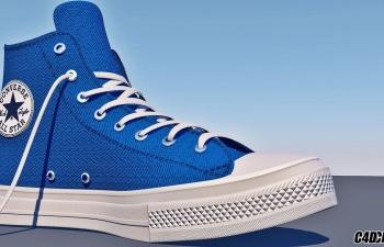 鞋子模型C4D+OBJ+贴图