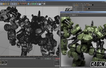 C4D 阿诺德渲染器v1.3.0插件汉化版 SolidAngle Cinema 4D To Arnold v1.3.0