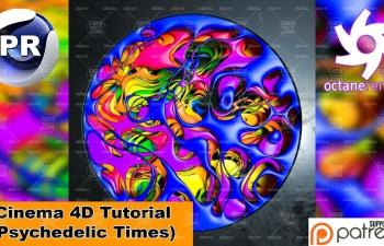 R20版本Octane渲染器體積網格創建多層腐蝕溶洞動畫C4D教程