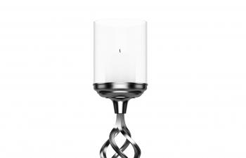 C4D模型 銀飾蠟燭臺擺件裝飾品模型