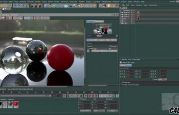 C4D教程 - Como usar ProRender(渲染GPU Nativo)