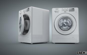 三星滚筒洗衣机(粗模)