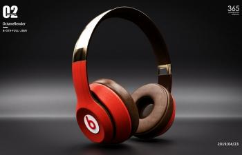 octance render  耳机