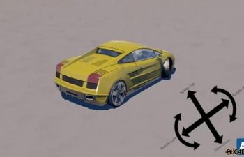 汽车绑定插件汉化版Easy Car Rig 2.0.6 plugin
