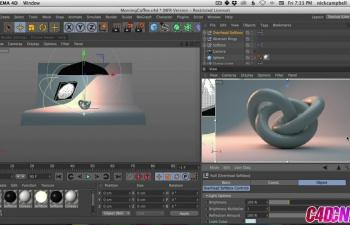 Cinema 4D快速提示5 - 为渲染创建自定义视口C4D教程