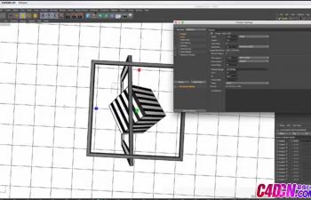 C4D动画小教程:变化的方框和方块