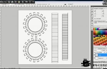 CINEMA 4D教程 - 导出UV到Photoshop