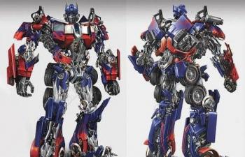 C4D模型-变形金刚擎天柱 Optimus Prime 3d model