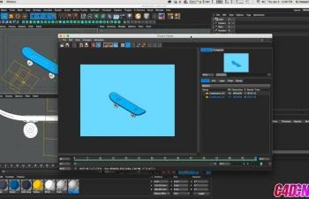 如何在Cinema 4D中的素描和卡通 Stroke Line上制作动画C4D教程 How to Animate On Sketch & 卡通 Stroke Lines in Cinema 4D