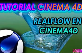 REALFLOW插件制作水流动画C4D教程