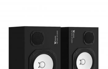 C4D模型 音响功放喇叭低音炮模型