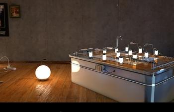 桌式玩具游戏灯光娱乐C4D模型
