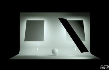C4D教程-Octane教程 - 基本Studio照明预设设置