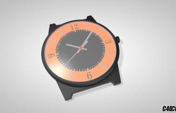 C4D手表腕表模型