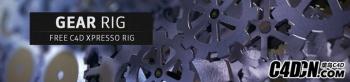 C4D齿轮动画工程含绑定