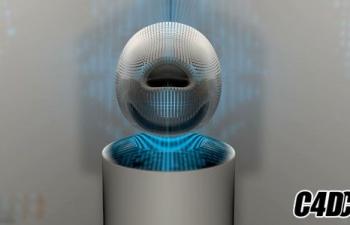 [C4D教程]C4D人工智能机器人动画制作