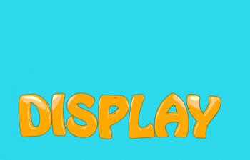 C4D模型 卡通字体模型动画字体设计工程