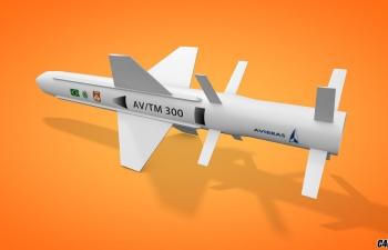 C4D AV MT 300导弹飞弹模型