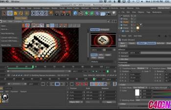 如何使用运动图形着色器效果器在C4D中设置动画和颜色克隆C4D教程 How to Use The Mograph Shader Effector To Animate And Color Clones In C4D