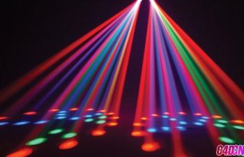 C4D教程 舞台灯光效果制作
