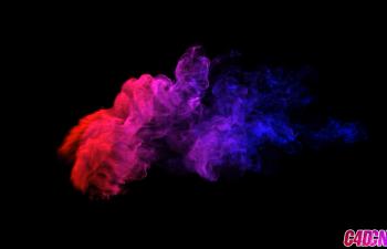 C4D角色动画骨骼绑定、权重、XP粒子TFD烟雾特效