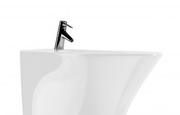 C4D模型 白色陶瓷洗手盆模型