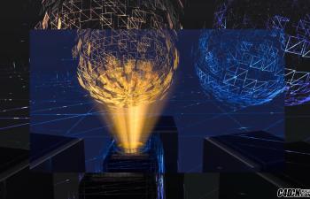 CINEMA 4D教程——使用红移渲染制作全息效果