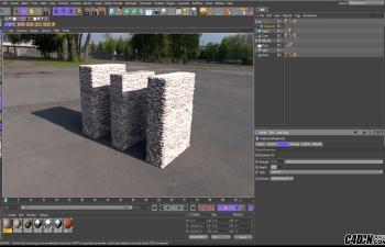 CINEMA 4D材质教程——置换通道的使用详解