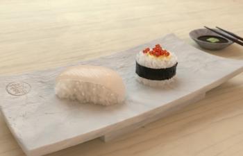C4D建模与octane渲染练习 寿司
