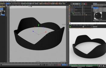 NIKO的教程:遮光罩的建模及OC渲染