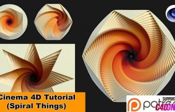 NIKO教程:漂亮的螺旋物体