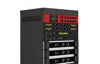C4D模型 可移动功放舞台音响灯光控制器模型