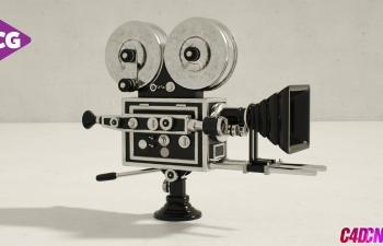 C4D教程 模擬手持攝像機抖動教程(含工程)
