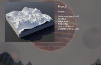 地形山脉素材包