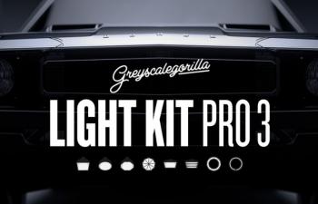 灰猩猩C4D灯光预设 GreyScaleGorilla Light Kit Pro v3 R18 – R20 Win/Mac XX版