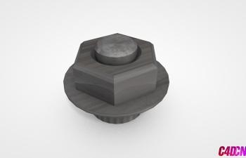 C4D模型 20 螺栓模型 Bolt