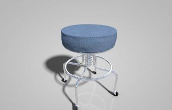 C4D椅子Stool