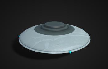 多格式UFO模型
